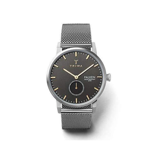 トリワ TRIWA 腕時計 FAST119-ME021212 ウォッチ 北欧デザイン スウェーデン Triwa Smoky Falken Watch Steel Mesh