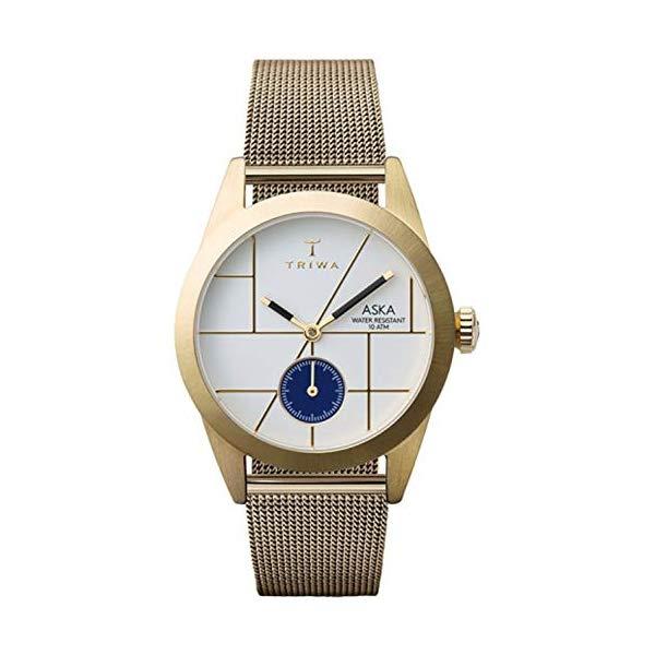 トリワ TRIWA 腕時計 レディース 女性用 AKST106MS ウォッチ 北欧デザイン スウェーデン Triwa aska Womens Analog Japanese Quartz Watch with Stainless Steel Gold Plated Bracelet AKST106MS