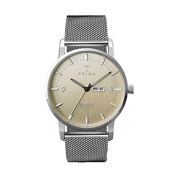 トリワ TRIWA 腕時計 レディース 女性用 KLST108ME ウォッチ 北欧デザイン スウェーデン Triwa klinga Womens Analog Japanese Quartz Watch with Stainless Steel Bracelet KLST108ME