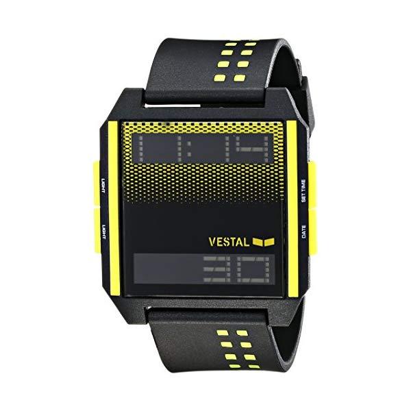 ベスタル 腕時計 VESTAL DIG031 ユニセックス 男女兼用 Vestal Unisex DIG001 Digichord White and Black Watch