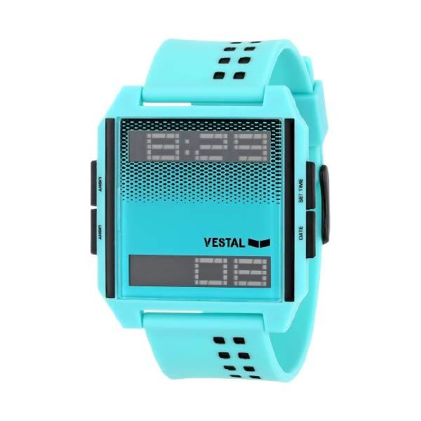 ベスタル 腕時計 VESTAL DIG029 ユニセックス 男女兼用 Vestal Unisex DIG001 Digichord White and Black Watch