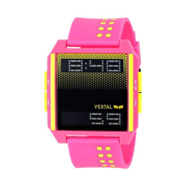 ベスタル 腕時計 VESTAL DIG030 ユニセックス 男女兼用 Vestal Unisex DIG001 Digichord White and Black Watch