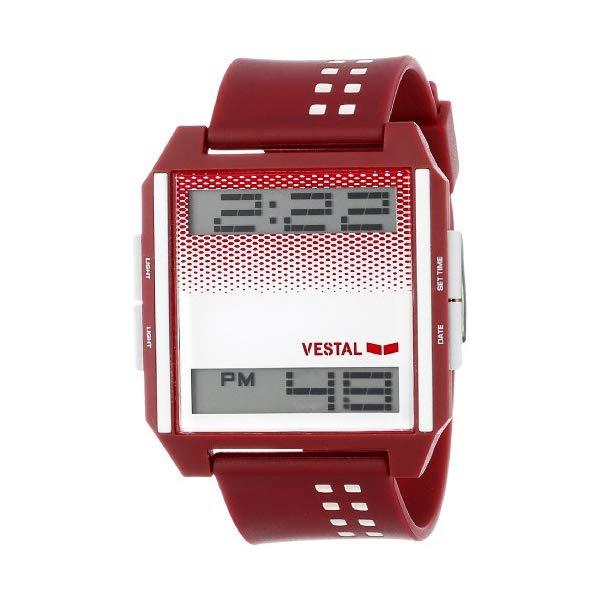 ベスタル 腕時計 VESTAL DIG027 ユニセックス 男女兼用 Vestal Unisex DIG001 Digichord White and Black Watch
