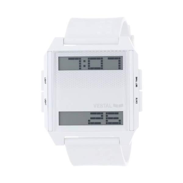 ベスタル 腕時計 VESTAL DIG013 ユニセックス 男女兼用 Vestal Unisex DIG001 Digichord White and Black Watch