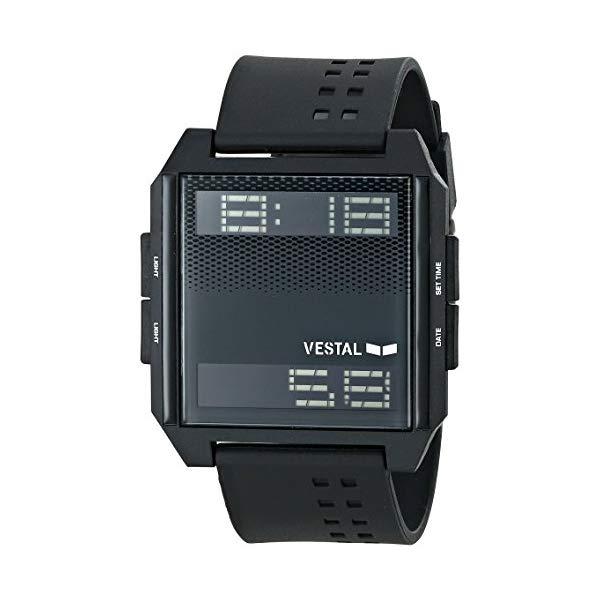 ベスタル 腕時計 VESTAL DIG008 ユニセックス 男女兼用 Vestal Unisex DIG001 Digichord White and Black Watch
