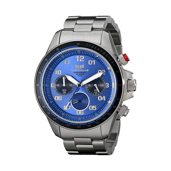 ベスタル 腕時計 VESTAL ZR2011 メンズ 男性用 Vestal Men's ZR-2 Chronograph Stainless Steel Watch