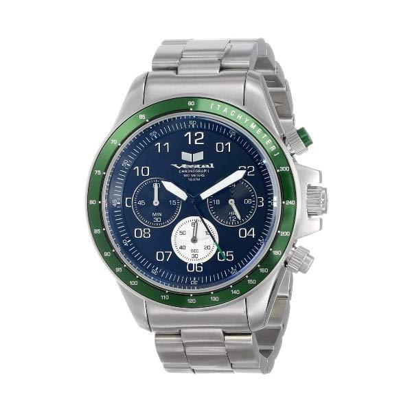 """ベスタル 腕時計 VESTAL ZR2016 メンズ 男性用 Vestal Men""""s ZR-2 Chronograph Stainless Steel Watch"""