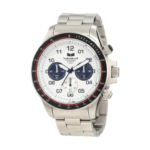 ベスタル 腕時計 VESTAL ZR2012 メンズ 男性用 Vestal Men's ZR-2 Chronograph Stainless Steel Watch