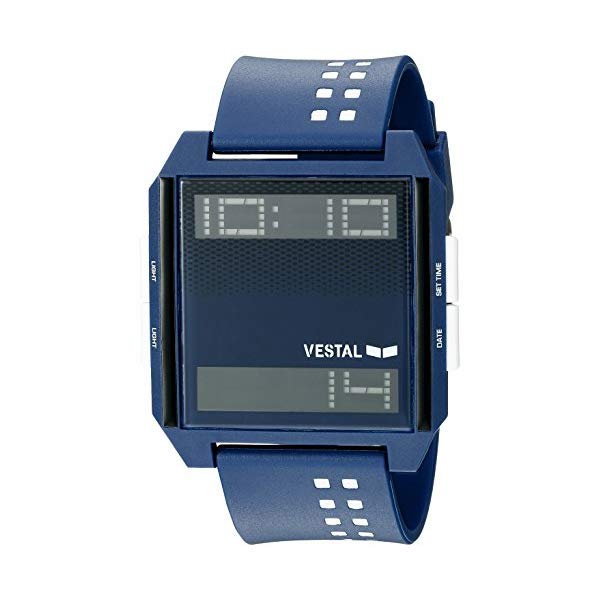 ベスタル 腕時計 VESTAL DIG038 ユニセックス 男女兼用 Vestal Unisex DIG038 Digichord Digital Display Quartz Blue Watch