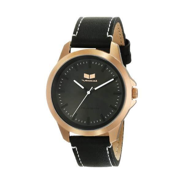 ベスタル 腕時計 VESTAL HER3L04 ユニセックス 男女兼用 Vestal Unisex Heirloom Leather Black Watch