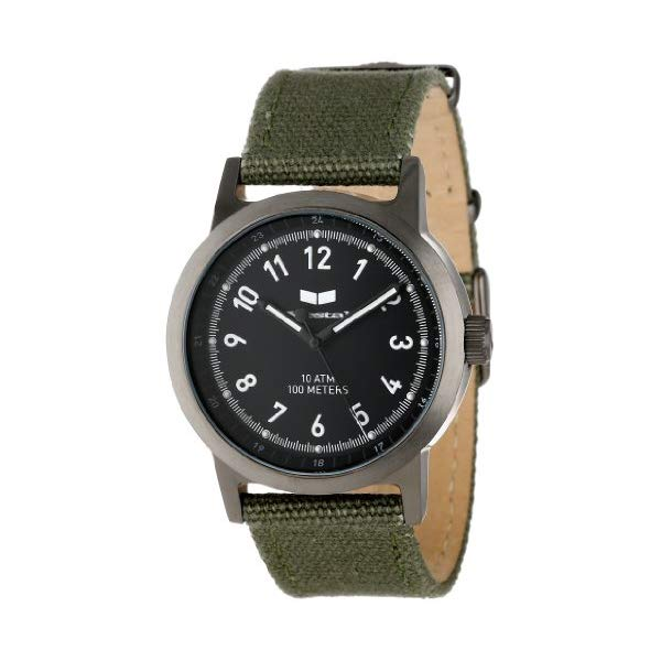 ベスタル 腕時計 VESTAL ABC3C02 ユニセックス 男女兼用 Vestal Unisex ABC3C01 Alpha Bravo Stainless Steel Watch with Canvas Band