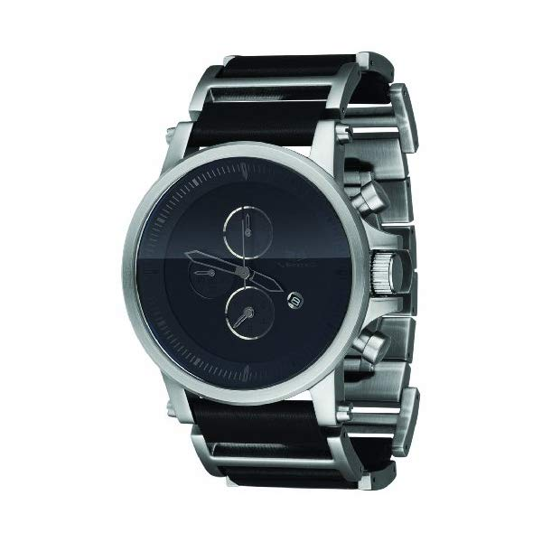 ベスタル 腕時計 VESTAL PLE032 メンズ 男性用 Vestal Men's PLE030 Plexi Black Ion-Plated Case Black Leather Watch