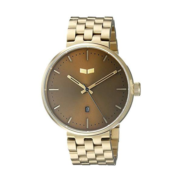 ベスタル 腕時計 VESTAL ROS3M005 ユニセックス 男女兼用 Vestal Unisex ROS3M005 Roosevelt Metal Analog Display Quartz Gold Watch