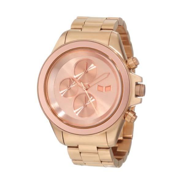 ベスタル 腕時計 VESTAL ZR2008 ユニセックス 男女兼用 Vestal Unisex ZR2001 ZR-2 Minimalist Polished Silver Chronograph Watch
