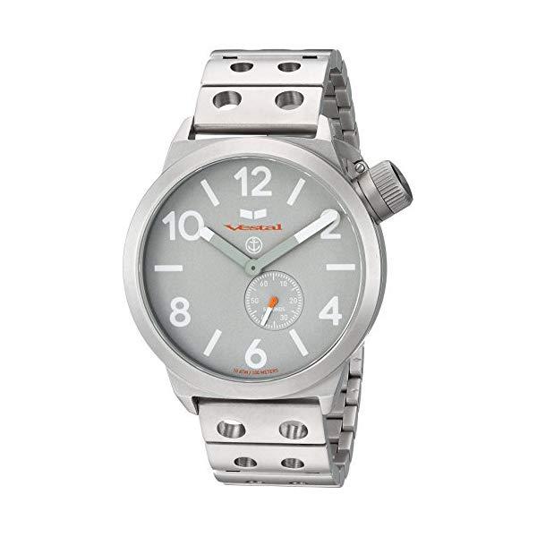 ベスタル 腕時計 VESTAL CNT453M09.DSVM ユニセックス 男女兼用 Vestal Unisex CNT453M09.DSVM Canteen Metal Analog Display Analog Quartz Silver Watch