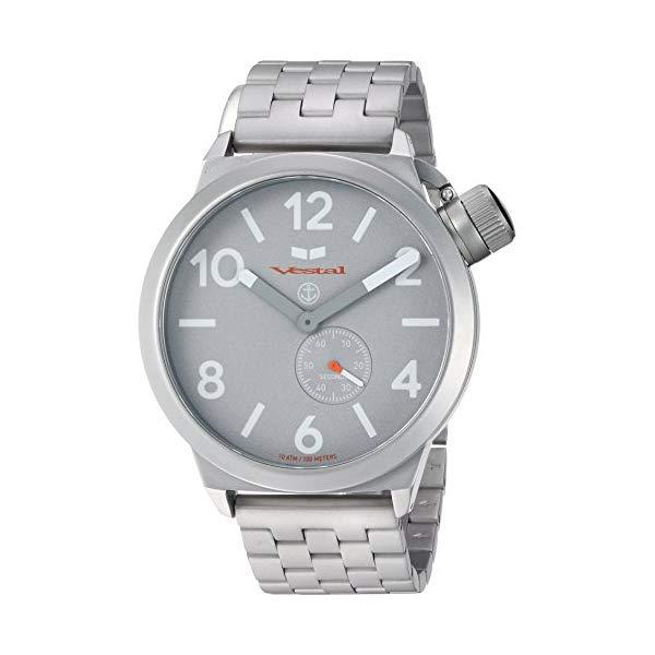 ベスタル 腕時計 VESTAL CNT453M09.5SVM ユニセックス 男女兼用 Vestal Unisex CNT453M09.5SVM Canteen Metal Analog Display Analog Quartz Silver Watch