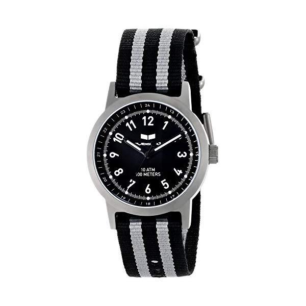 ベスタル 腕時計 VESTAL ABZ3C02 メンズ 男性用 Vestal Men's ABZ3C01 Alpha Bravo Zulu Stainless Steel Watch with Canvas Band