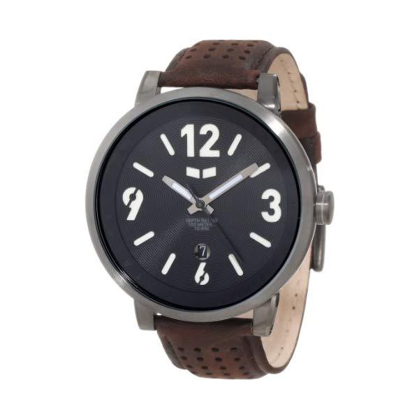 ベスタル 腕時計 VESTAL DPL005 メンズ 男性用 Vestal Men's DPL001 Doppler Slim Black Watch