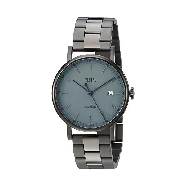 ベスタル 腕時計 VESTAL SP36M05.3BLX ユニセックス 男女兼用 Vestal Unisex SP36M05.3BLX Sophisticate 36 Metal Analog Display Swiss Quartz Black Watch
