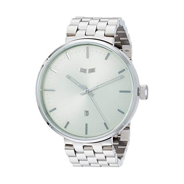 ベスタル 腕時計 VESTAL ROS3M008 Vestal Roosevelt Metal Japanese-Quartz Watch with Stainless-Steel Strap, Silver, 12 (Model: ROS3M008