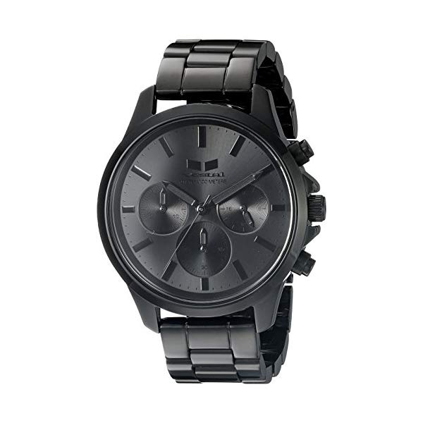 ベスタル 腕時計 VESTAL HEICM06 ユニセックス 男女兼用 Vestal Unisex HEICM06 Heirloom Chrono Analog Display Quartz Black Watch