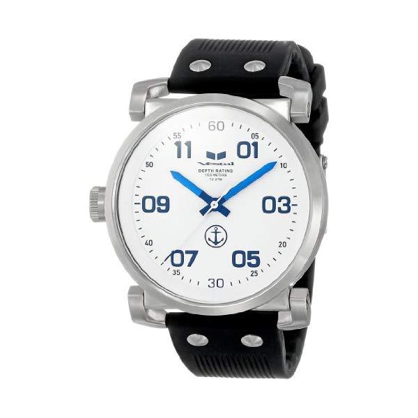 ベスタル 腕時計 VESTAL OB3S006 メンズ 男性用 Vestal Men's OB3S001 USS Observer Blackout Silicone Watch