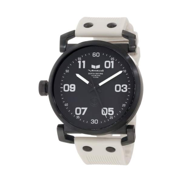 ベスタル 腕時計 VESTAL OB3S002 メンズ 男性用 Vestal Men's OB3S001 USS Observer Blackout Silicone Watch