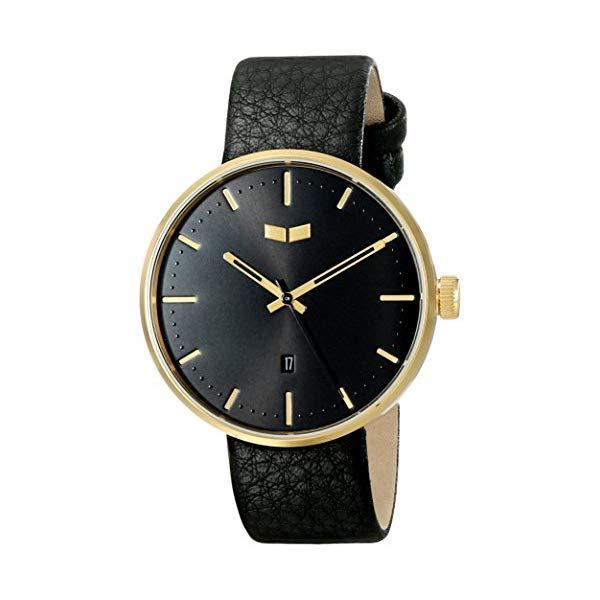 ベスタル 腕時計 VESTAL ROS3L007 ユニセックス 男女兼用 Vestal Unisex ROS3L001 Roosevelt Stainless Steel Watch with Black Leather Strap