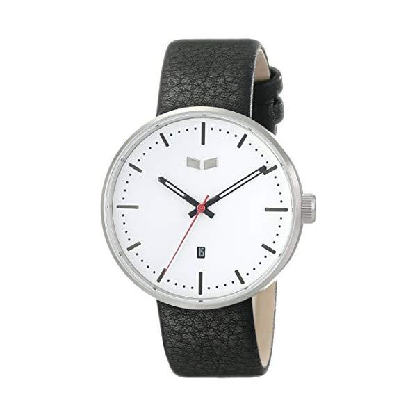 ベスタル 腕時計 VESTAL ROS3L008 ユニセックス 男女兼用 Vestal Unisex ROS3L001 Roosevelt Stainless Steel Watch with Black Leather Strap