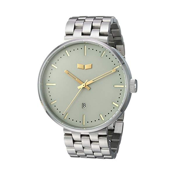 ベスタル 腕時計 VESTAL RS42M10.5SVX ユニセックス 男女兼用 Vestal Unisex RS42M10.5SVX Roosevelt Metal Analog Display Quartz Silver Watch