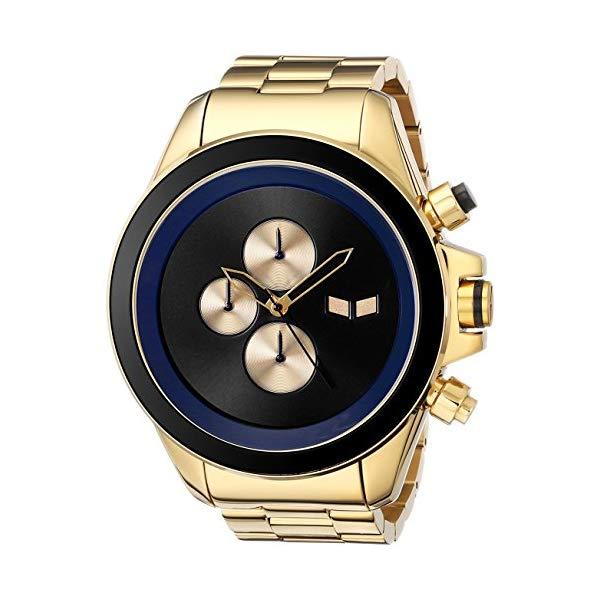 ベスタル 腕時計 VESTAL ZR3005 メンズ 男性用 Vestal Men's ZR3005 ZR-3 Minimalist Oversized Gold Chronograph Watch