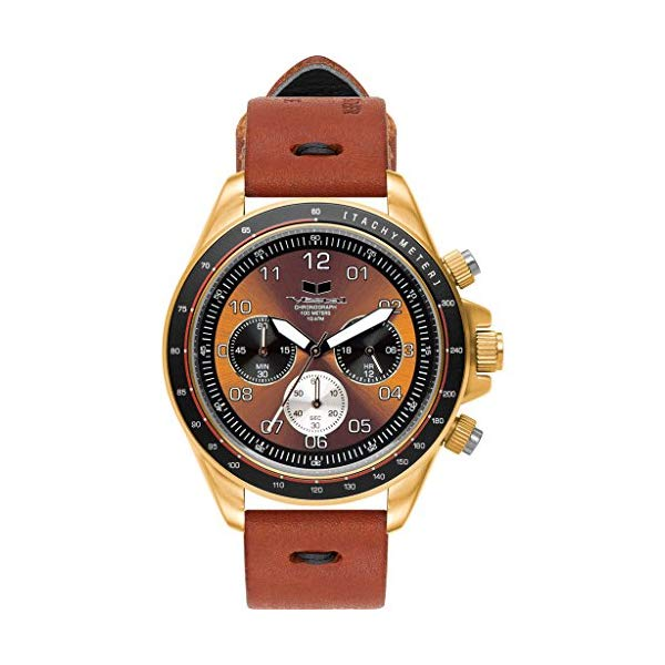 ベスタル 腕時計 VESTAL ZR-2 Vestal ZR-2 Makers Watch | Persimmon-Black/Gold/Orange
