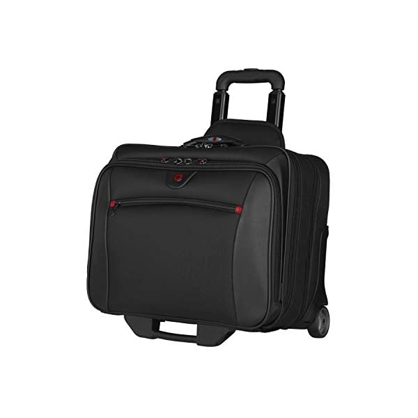 ウェンガー WENGER 旅行鞄 キャリーバッグ コロコロ ノートPCバッグ ブリーフケース Wenger Patriot Rolling Case Blk Up To 17IN Laptop with notebook Case (WA-7953-02F00)
