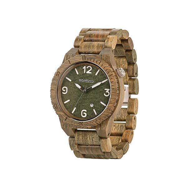 ウィーウッド 腕時計 WEWOOD ウッドウォッチ 木製腕時計 WeWOOD ALPHA ARMY Mens Alpha Army Wood Watch
