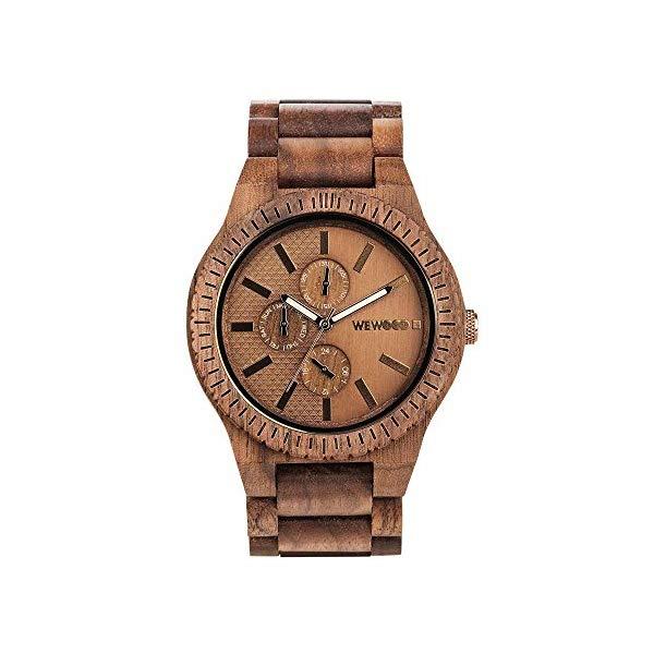 ウィーウッド 腕時計 WEWOOD ウッドウォッチ 木製腕時計 WW30004 WEWOOD Mens Analogue Quartz Watch with Wood Strap WW30004