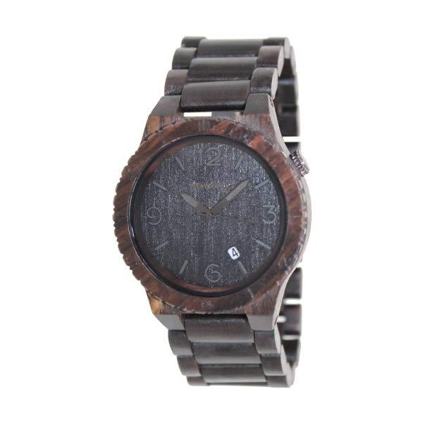 ウィーウッド 腕時計 WEWOOD ウッドウォッチ 木製腕時計 WeWOOD ALPHABLACK Mens Alpha Black Watch