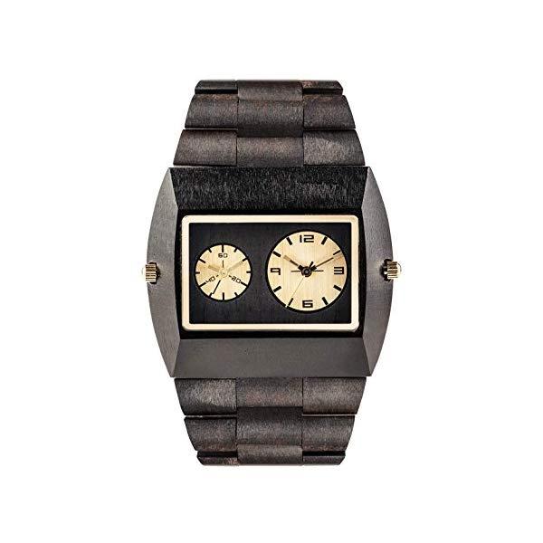 ウィーウッド 腕時計 WEWOOD ウッドウォッチ 木製腕時計 WeWood Jupiter Wood Watch (Black Gold TL)