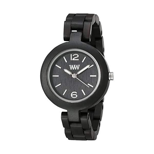 ウィーウッド 腕時計 WEWOOD ウッドウォッチ 木製腕時計 MIMBLACK WeWood Mimosa Wood Watch