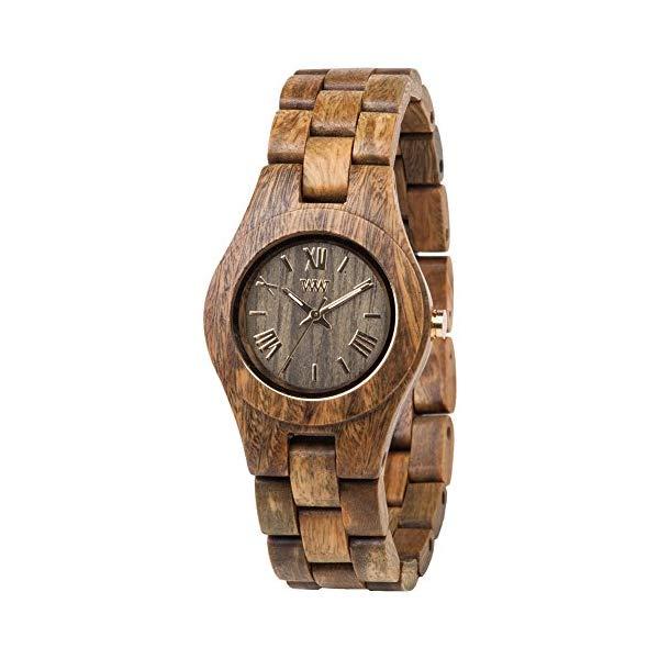 ウィーウッド 腕時計 WEWOOD ウッドウォッチ 木製腕時計 WW21002 WeWOOD CRISSARMY Criss Army Brown Watch