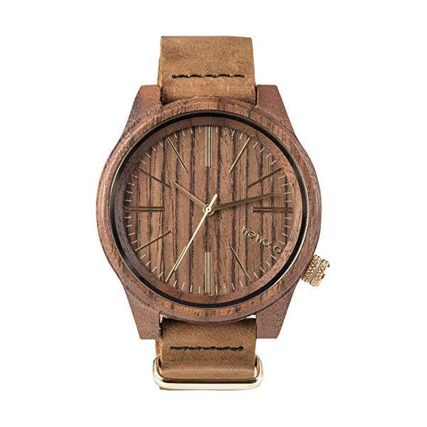 ウィーウッド 腕時計 WEWOOD ウッドウォッチ 木製腕時計 9818111 WeWOOD Torpedo Leather (Nut) Watch