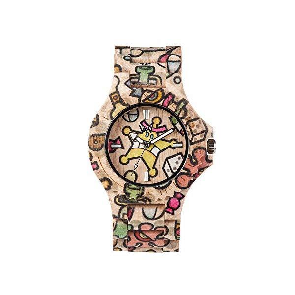ウィーウッド 腕時計 WEWOOD ウッドウォッチ 木製腕時計 WW52001 WEWOOD Womens Analogue Quartz Watch with Wood Strap WW52001