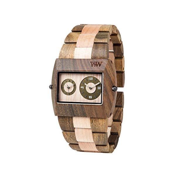 ウィーウッド 腕時計 WEWOOD ウッドウォッチ 木製腕時計 Wewood Jupiter Army-Beige Watch