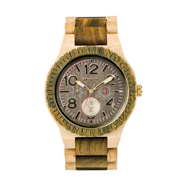ウィーウッド 腕時計 WEWOOD ウッドウォッチ 木製腕時計 9818184 WeWood Kardo Army Beige Wood Watch | Army/Beige