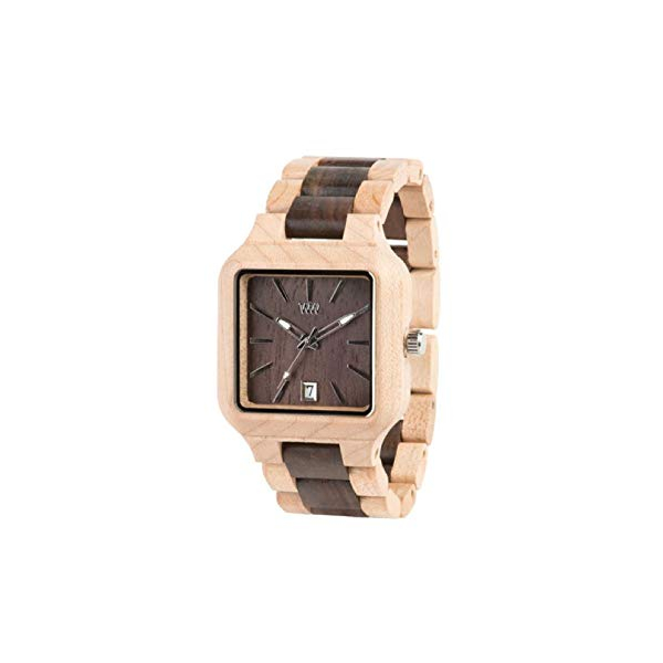 ウィーウッド 腕時計 WEWOOD ウッドウォッチ 木製腕時計 WeWood Metis Beige/Chocolate Wooden Watch