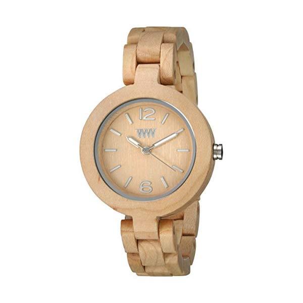 ウィーウッド 腕時計 WEWOOD ウッドウォッチ 木製腕時計 WeWOOD Mimosa Beige
