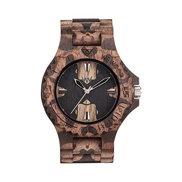 ウィーウッド 腕時計 WEWOOD ウッドウォッチ 木製腕時計 メンズ 男性用 WW40001 WEWOOD Mens Analogue Quartz Watch with Wood Strap WW40001