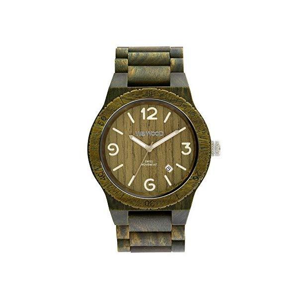 ウィーウッド 腕時計 WEWOOD ウッドウォッチ 木製腕時計 メンズ 男性用 WW08010 WEWOOD Mens Analogue Quartz Watch with Wood Strap WW08010