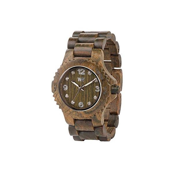 ウィーウッド 腕時計 WEWOOD ウッドウォッチ 木製腕時計 WDEARM Wewood Men's Deneb Wood Wooden Watch (Army Green)
