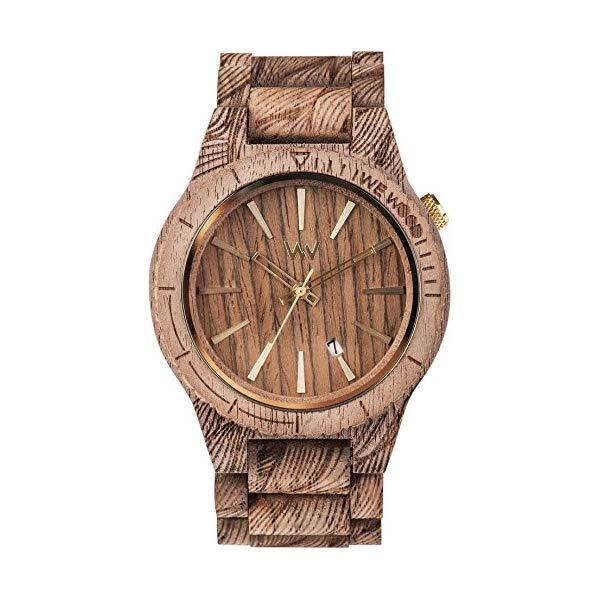 ウィーウッド 腕時計 WEWOOD ウッドウォッチ 木製腕時計 9818115 WeWood Assunt Rough Waves Walnut Wood Watch | Nut WASRWN
