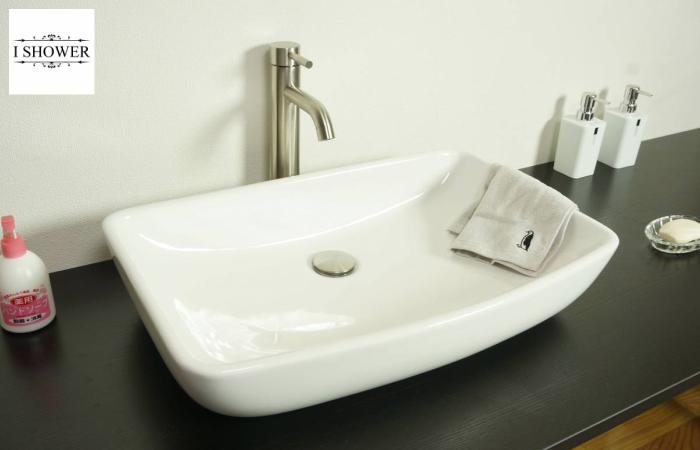 【洗面器 3028】お買得3点セット/洗面ボウル+排水栓+選べる排水トラップ(S床/P壁)